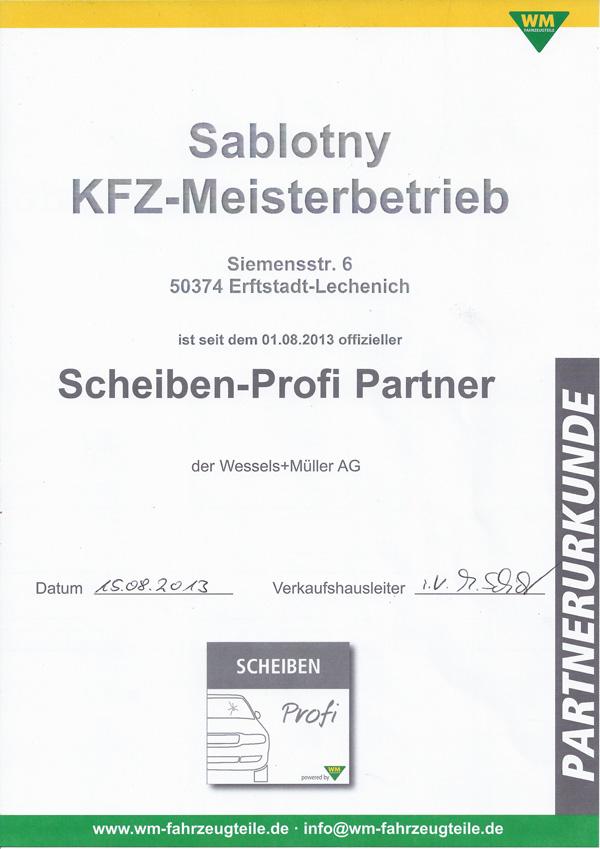 Autoscheiben Profi Partner Erftstadt