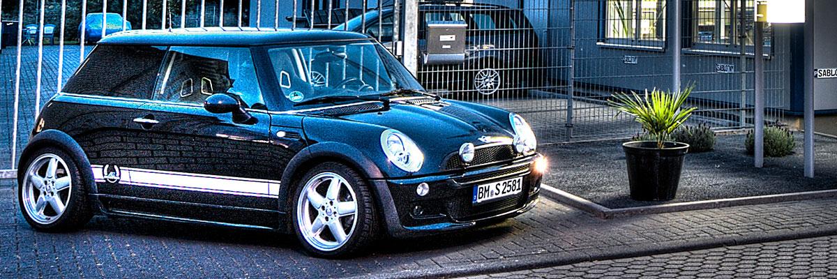 Mini Fahrzeugcode BMW Mini KFZ Autowerkstatt